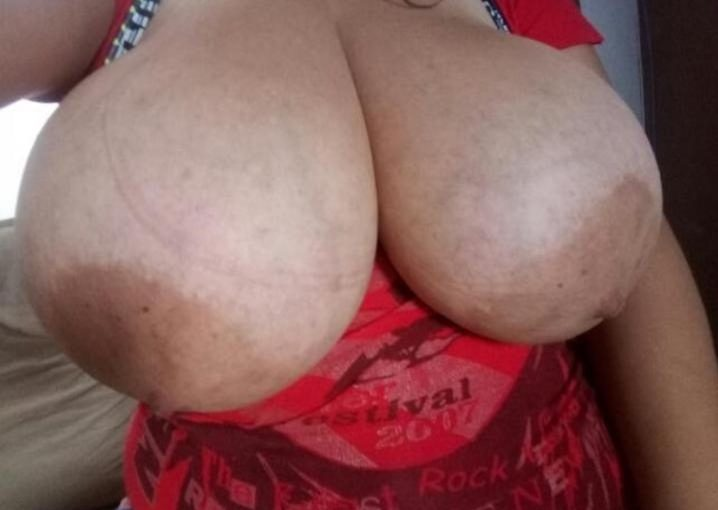 Amazing Teen with Giant Natural Boobs